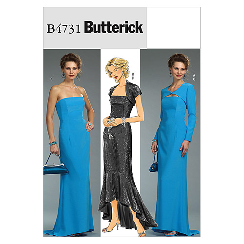 Butterick Misses Special Occasion-B4731