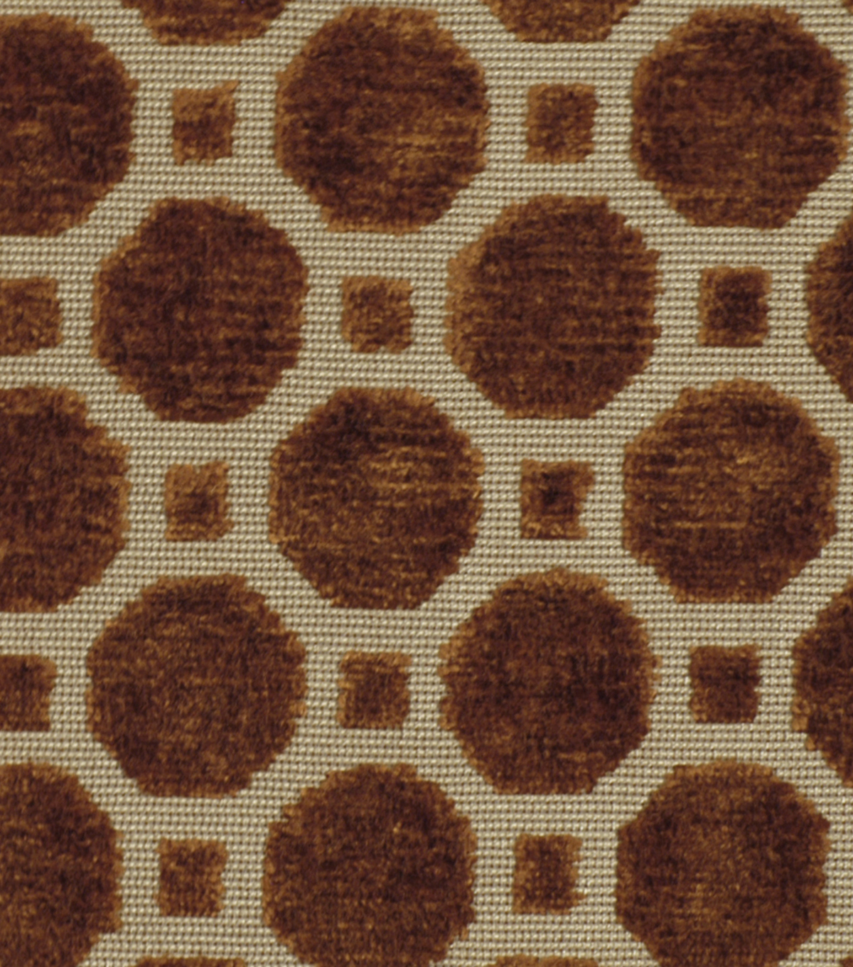 Robert Allen @ Home Upholstery Fabric 54\u0022-Velvet Geo Copper