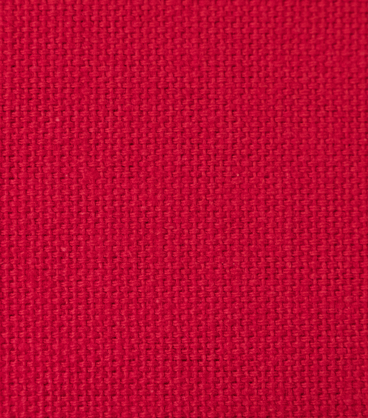 Duck Canvas Fabric, Red