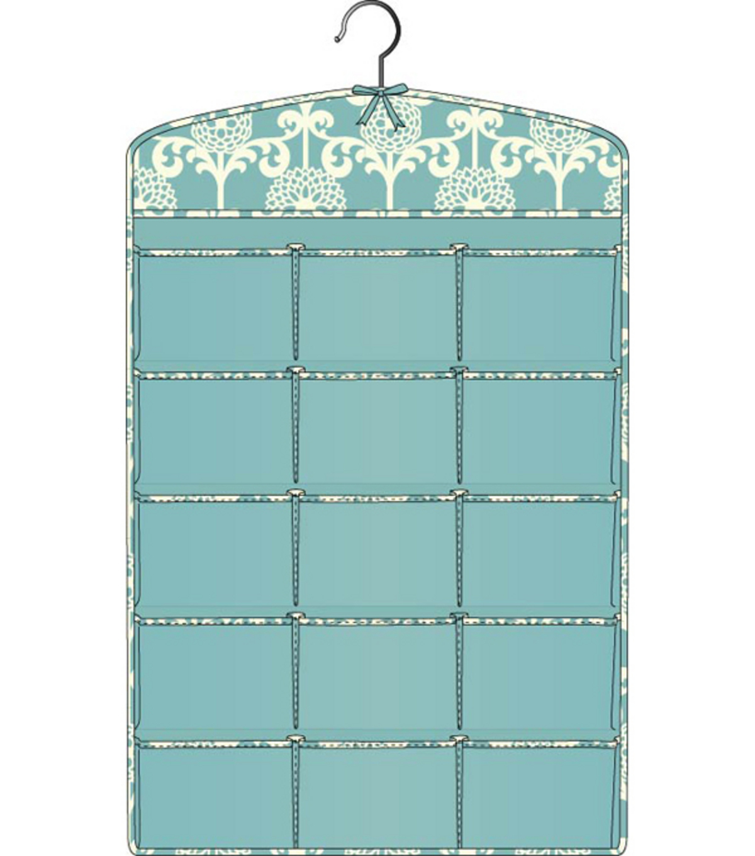 2 Sided Jewelry Organizer Blue Floret | JOANN