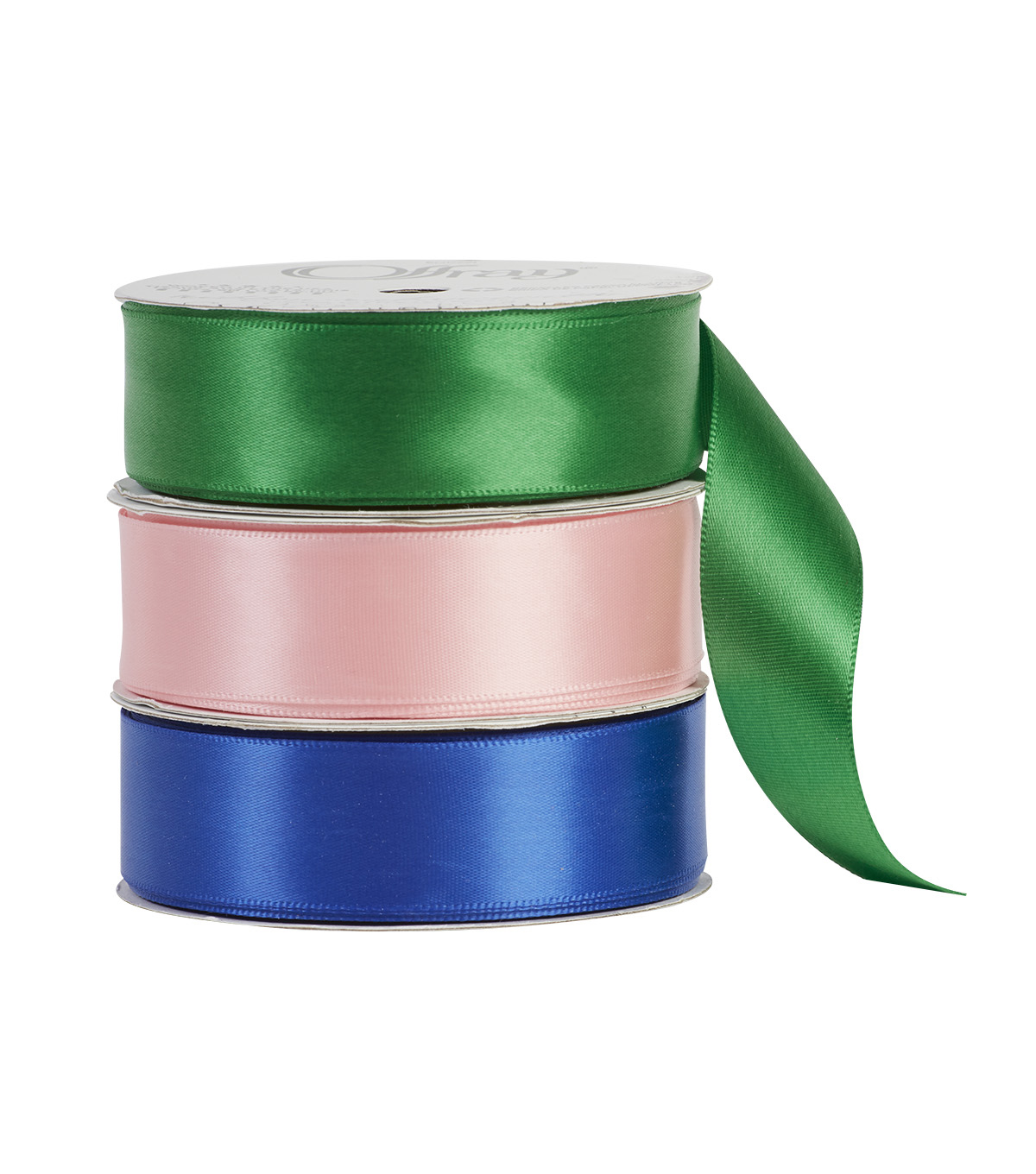 Offray 7/8\u0022x21\u0027 Single Faced Satin Solid Ribbon