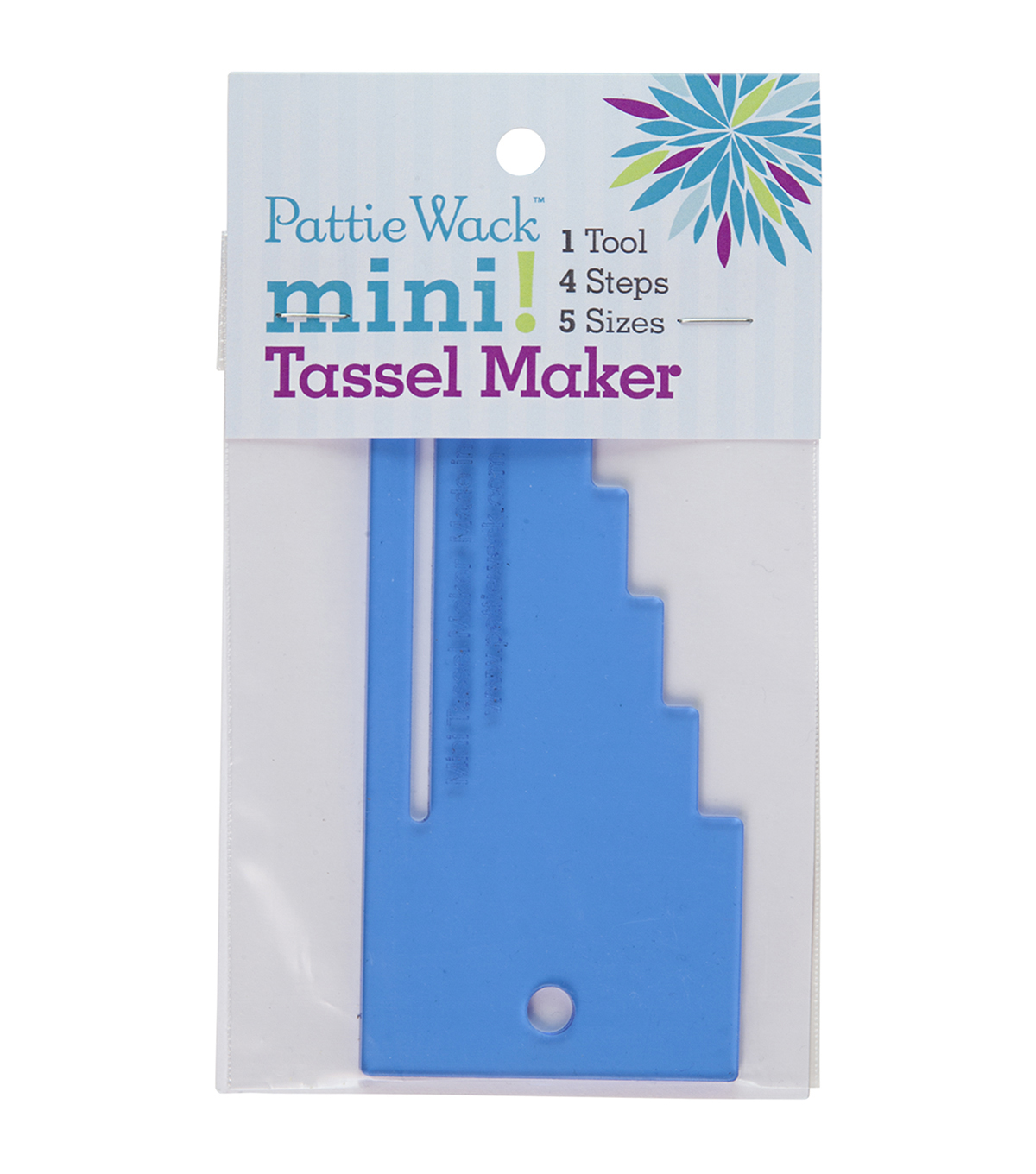 Pattiewack Designs 5.5\u0027\u0027x2.5\u0027\u0027 Mini Tassel Maker