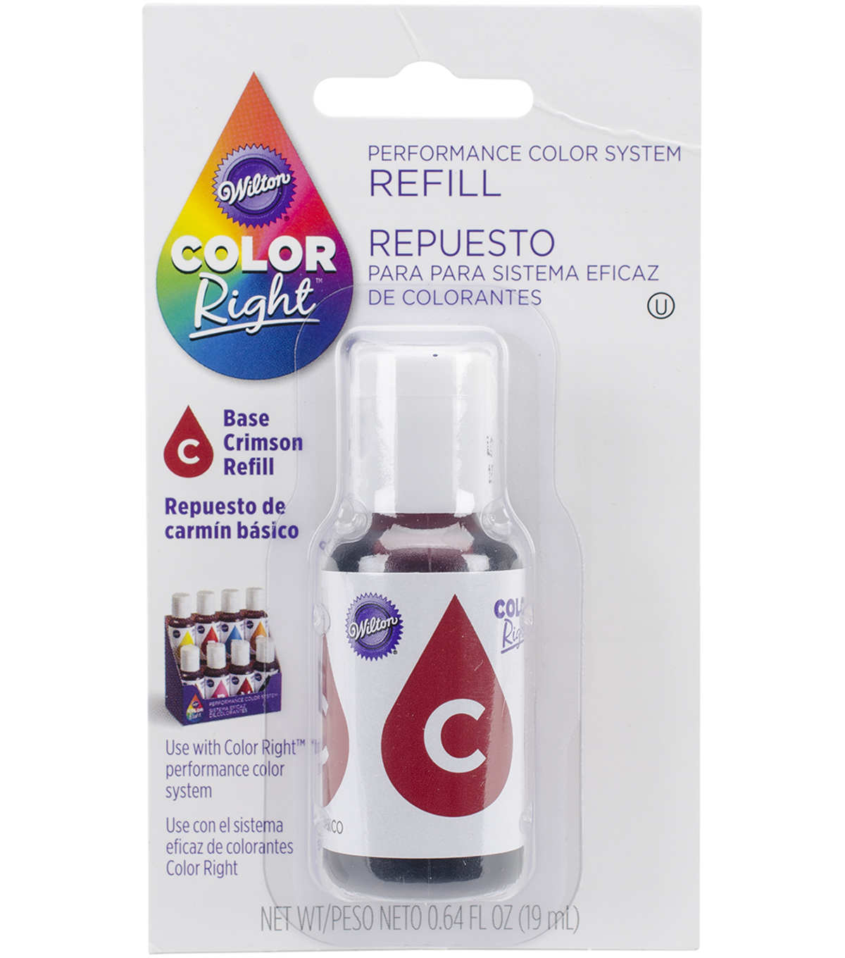 Wilton Color Right Food Color System Refill .7oz