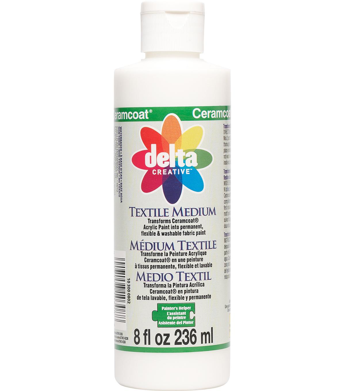 Delta Ceramcoat Painter S Helper 8 Fl Oz Textile Medium