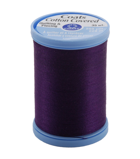 Coats & Clark Cotton Covered Quilting & Piecing Thread 250 Yards , 3690 Purple