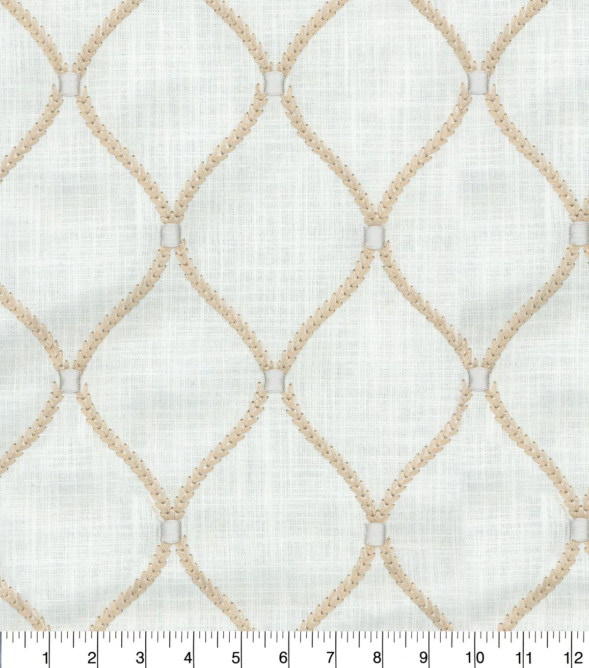 Williamsburg Multi-Purpose Decor Fabric 54\u0027\u0027-Teastain Deane Embroidery