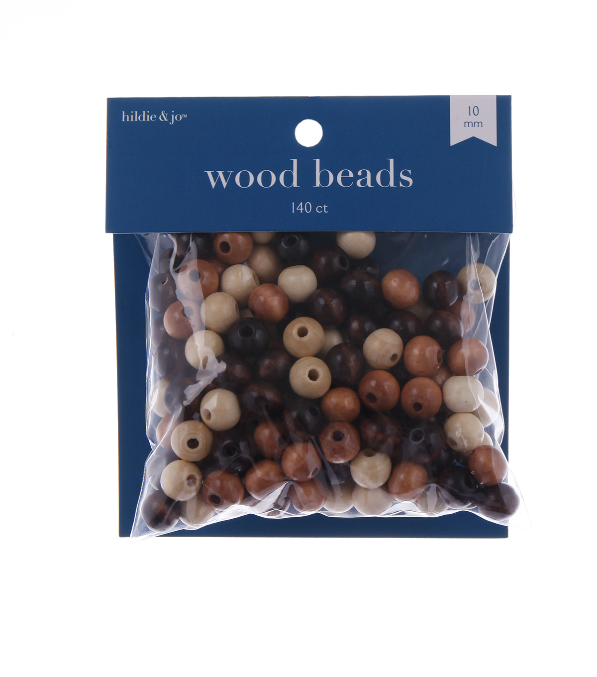 Round Wood Beads 10mm-Earth Tones