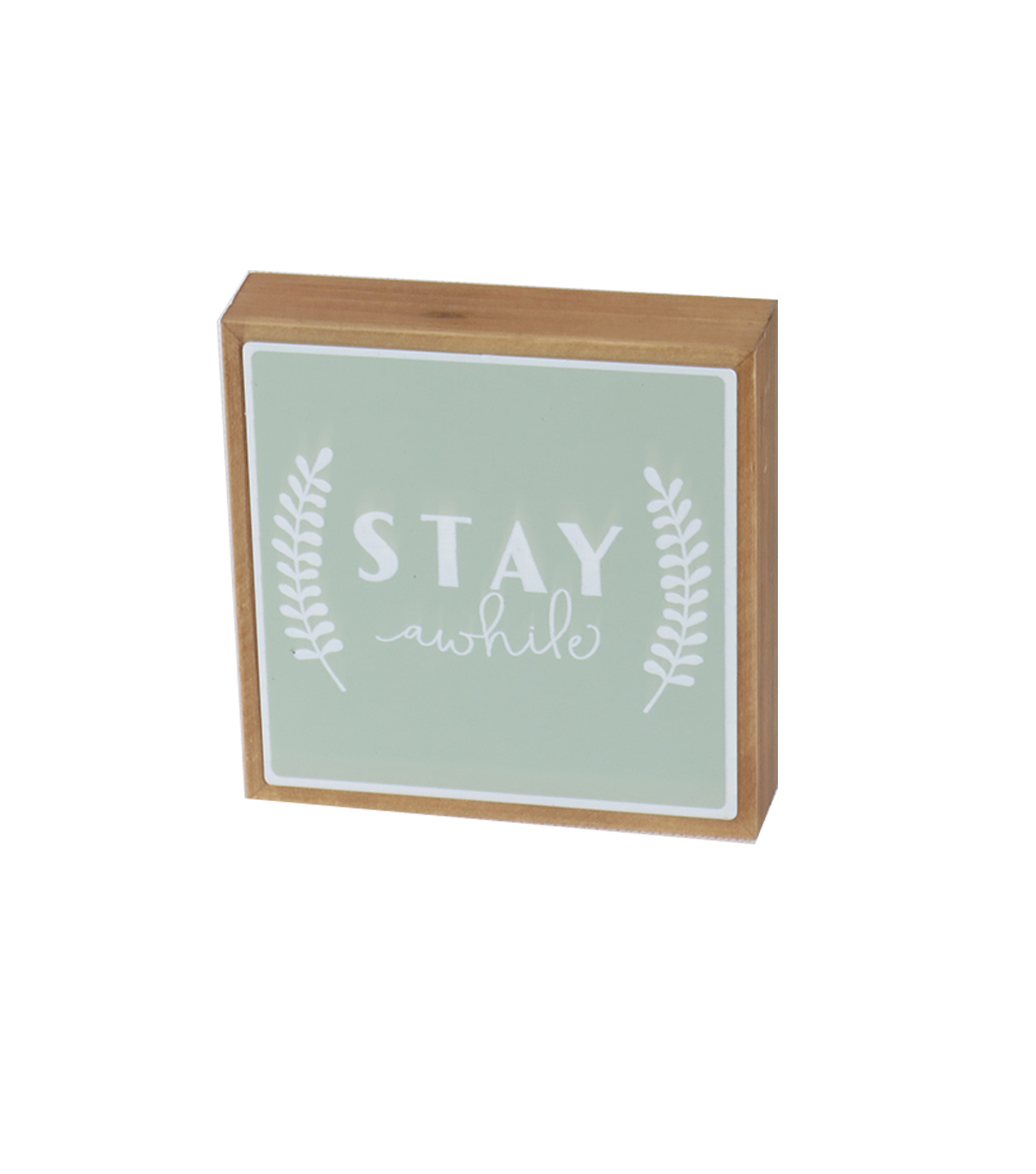 Simply Spring Wall Decor-Stay Awhile