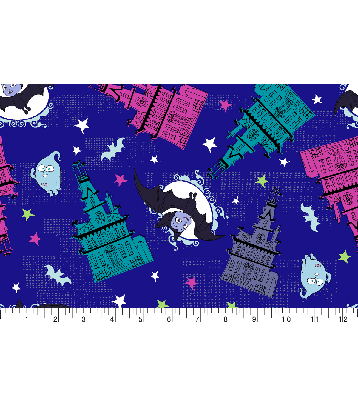 Disney Junior Vampirina Cotton Fabric -Going Batty