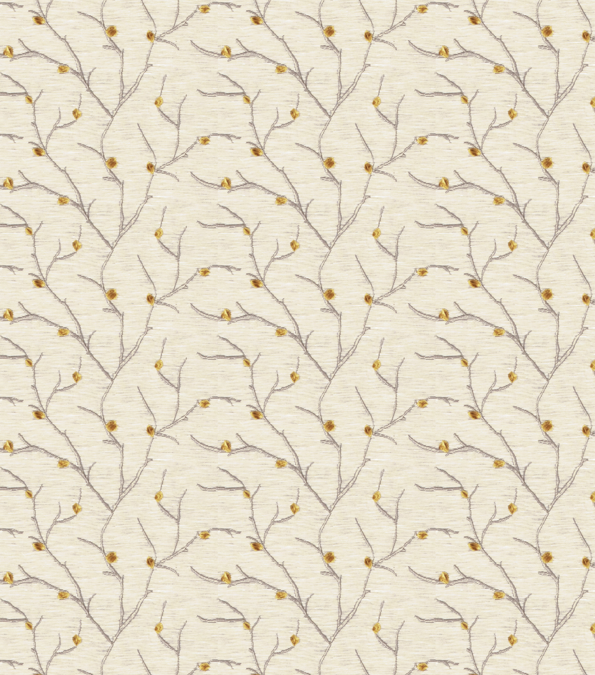 Home Decor 8x8 Fabric Swatch-Eaton Square Remedy Goldleaf