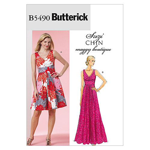 Mccall Pattern B5490 Bb (8-10-1-Butterick Pattern