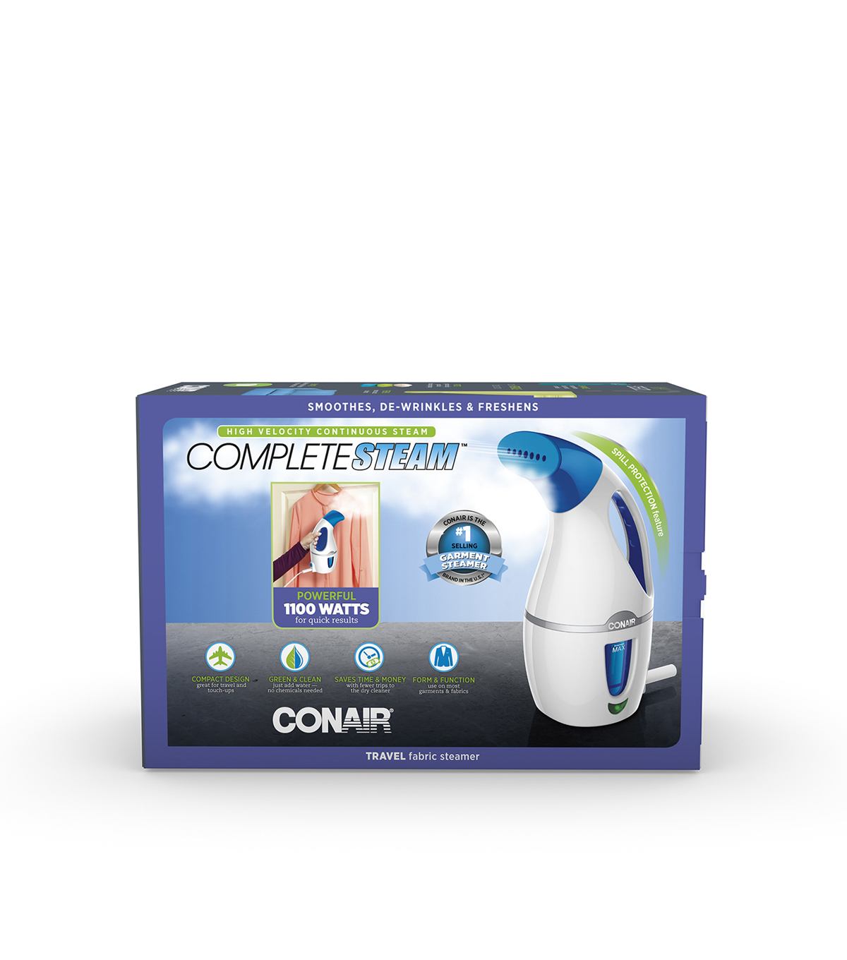 Conair CompleteSteam Travel Fabric Steamer