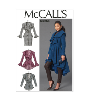 McCall\u0027s Misses Outerwear-M7256