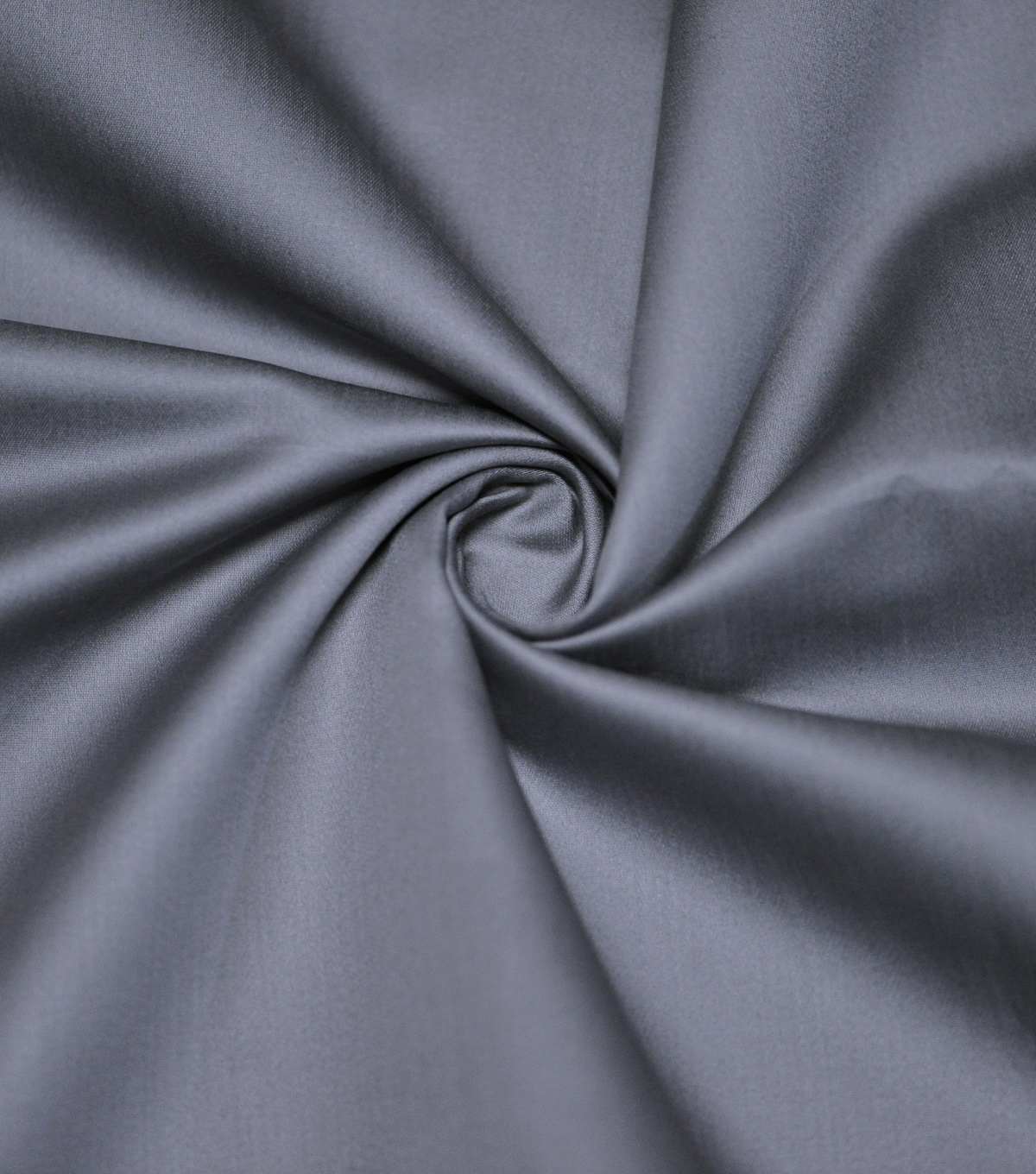 Supima Sateen Cotton Fabric-Solids, Blend Gray