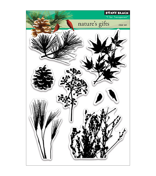 Penny Black Nature\u0027s Gift Clear Stamps