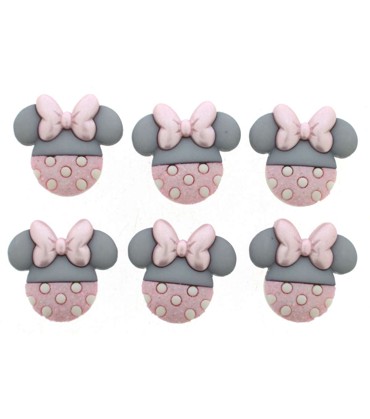 Jesse James Dress It Up Disney Baby Minnie Button Embellishments