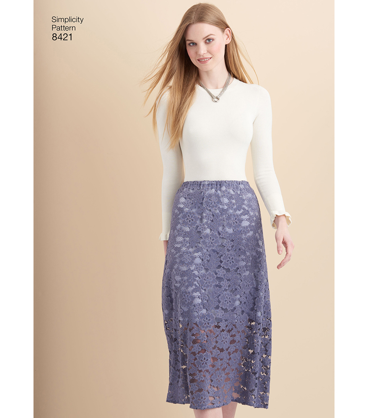 Simplicity Pattern 8421 Misses\u0027 Skirts-Size H5 (6-8-10-12-14)
