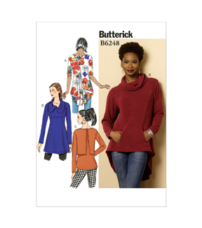 Butterick Misses Top-B6248