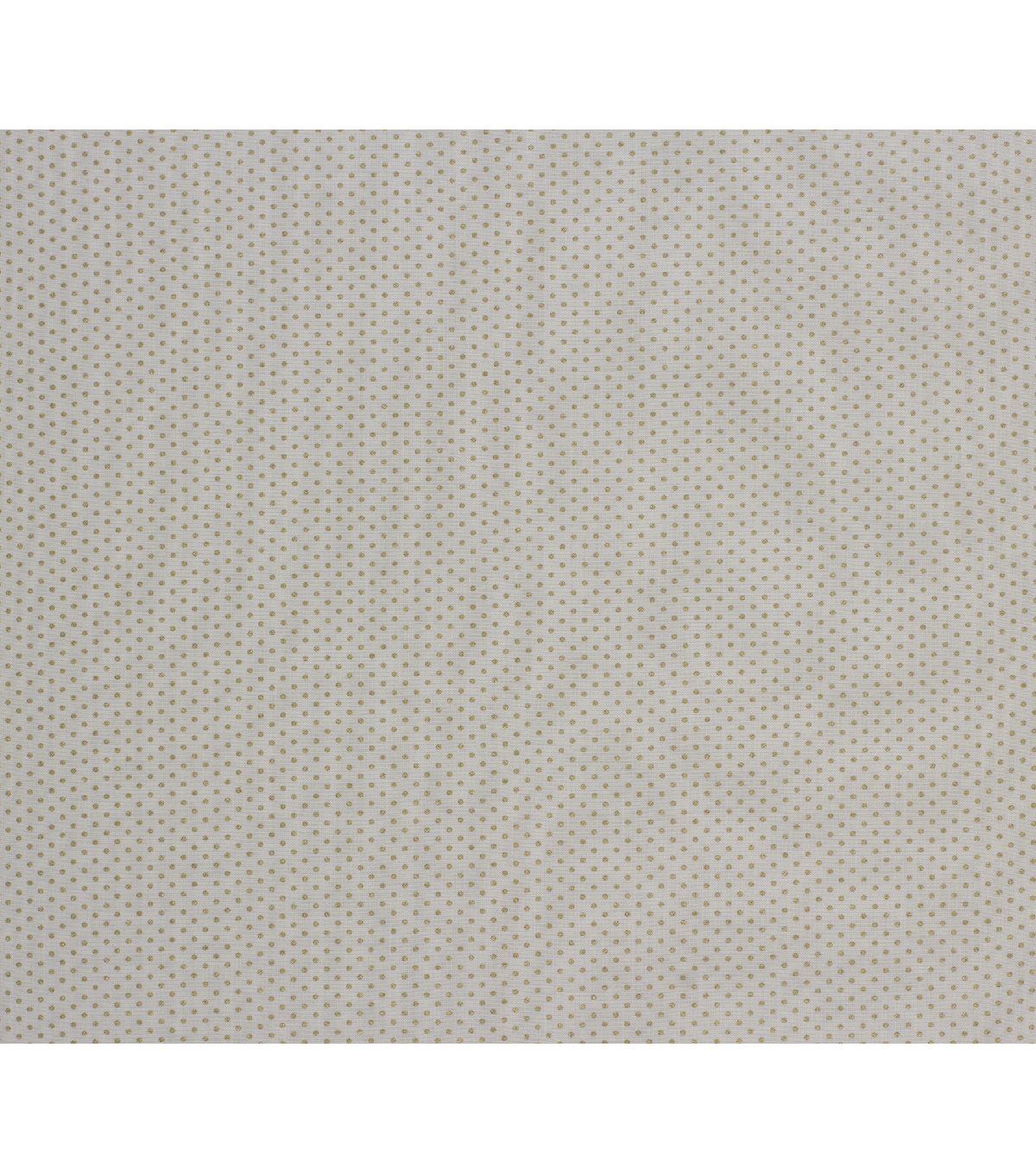 Harvest Cotton Fabric-Ivory Dots Metallic