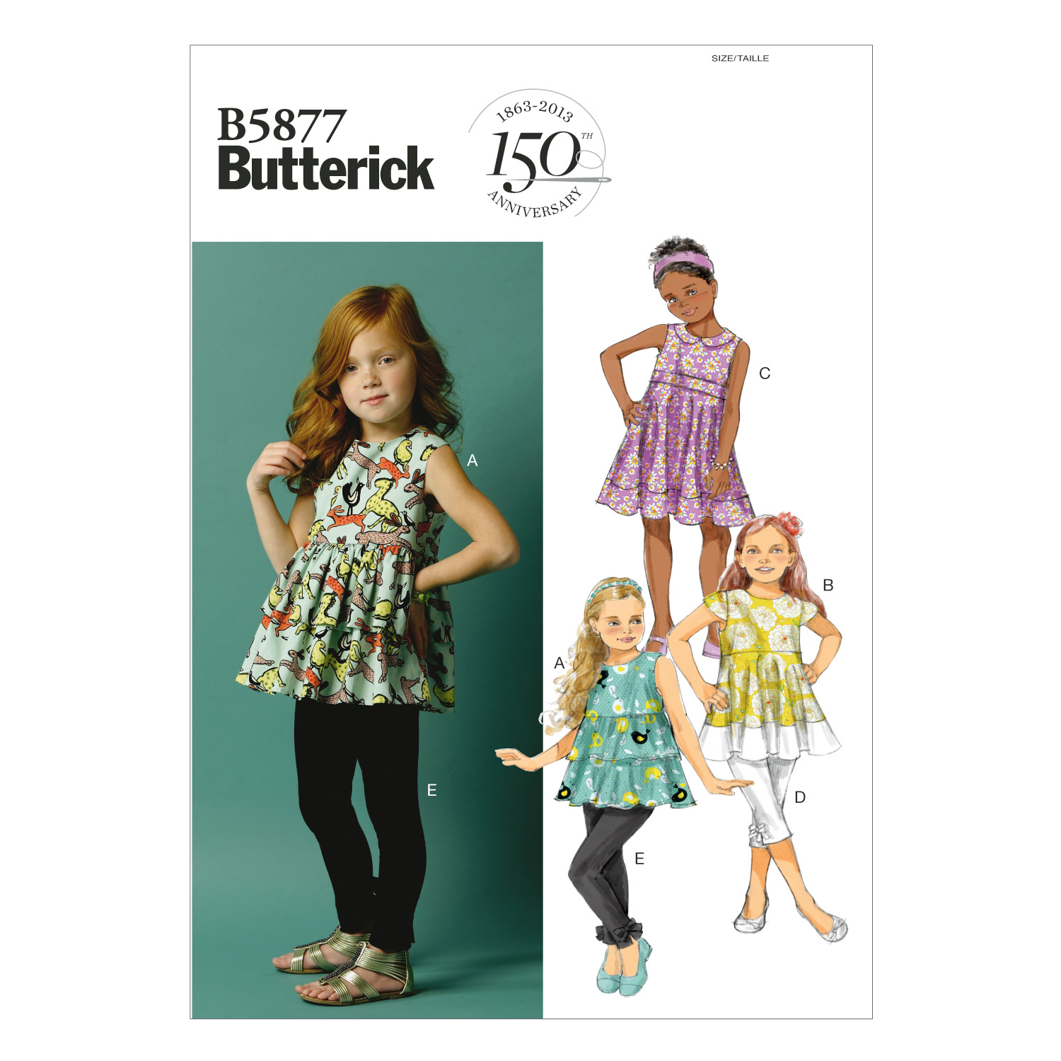 Butterick Child Casual-B5877