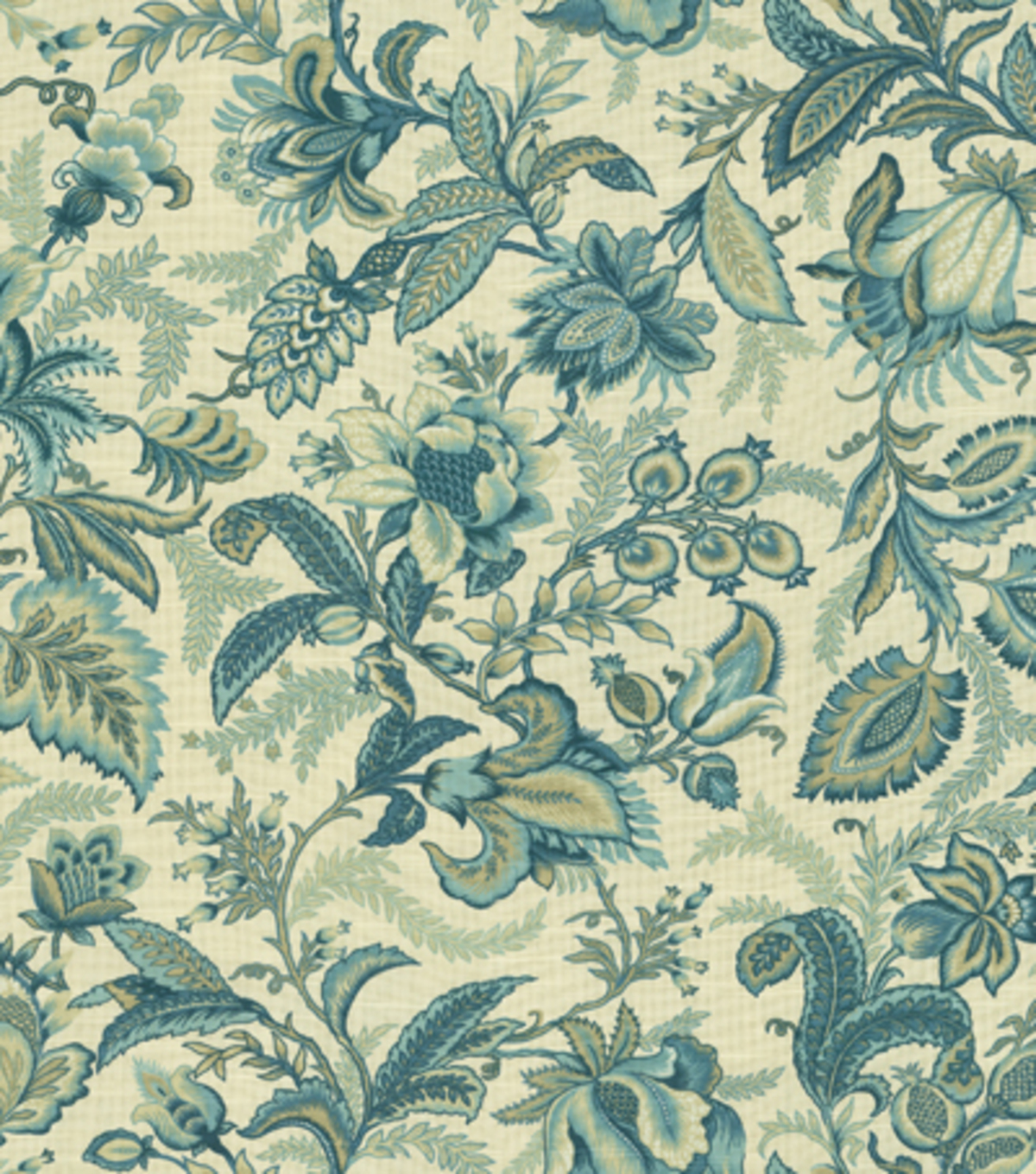 Better homes gardens multi purpose decor fabric 54u0022 wicklow indigo