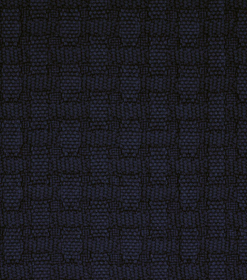 Home Decor 8\u0022x8\u0022 Fabric Swatch-Robert Allen Marigot  Navy Fabric