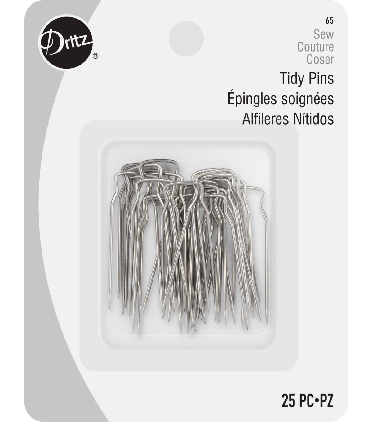 Dritz 1.25\u0022 Tidy Pins 25pcs