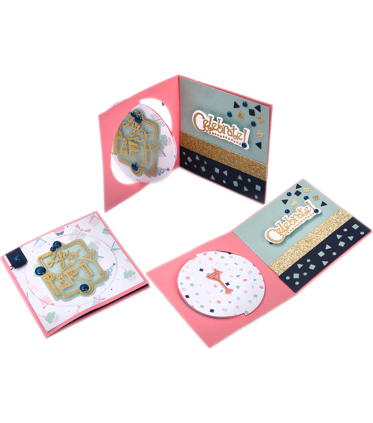 Sizzix Framelits Dies with Stamps-Celebrate #2