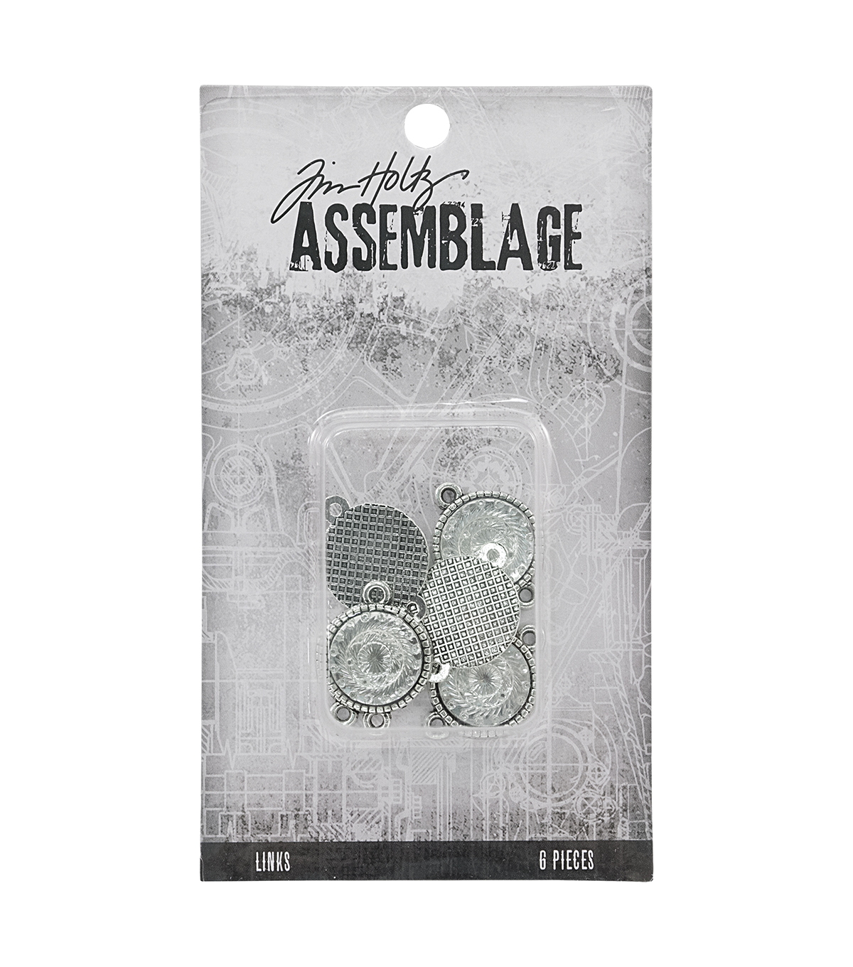 Tim Holtz Assemblage Links-Mirrored Medallions