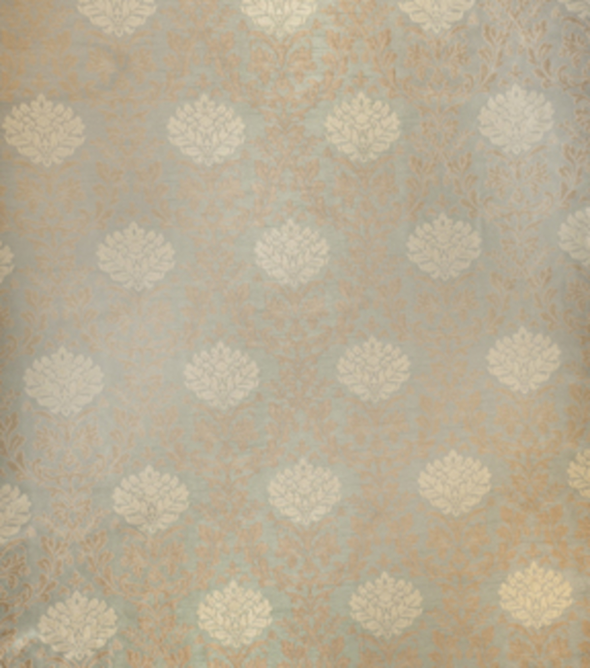 Home Decor 8\u0022x8\u0022 Fabric Swatch-Print Fabric Eaton Square Marshall Sea Green