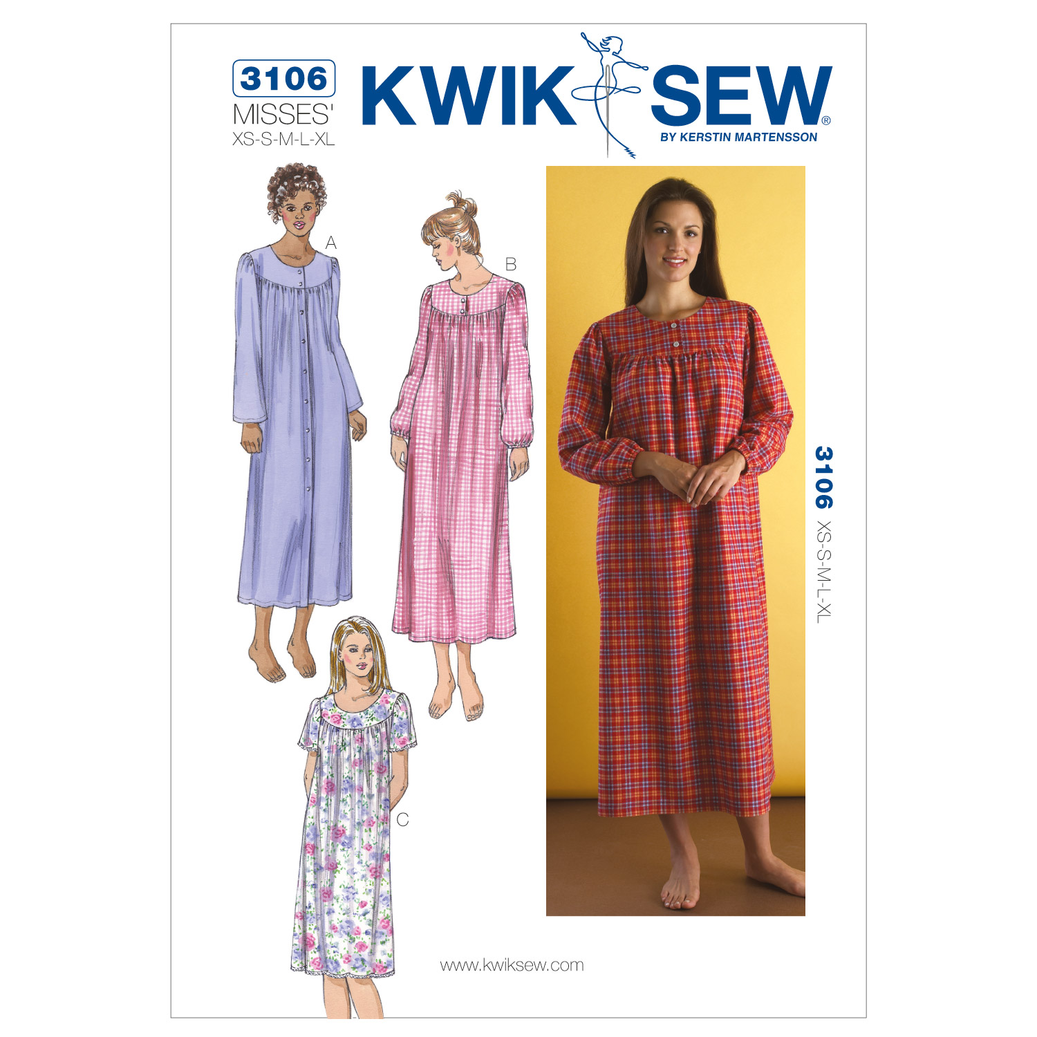 Kwik Sew Misses Sleep & Lounge-K3106