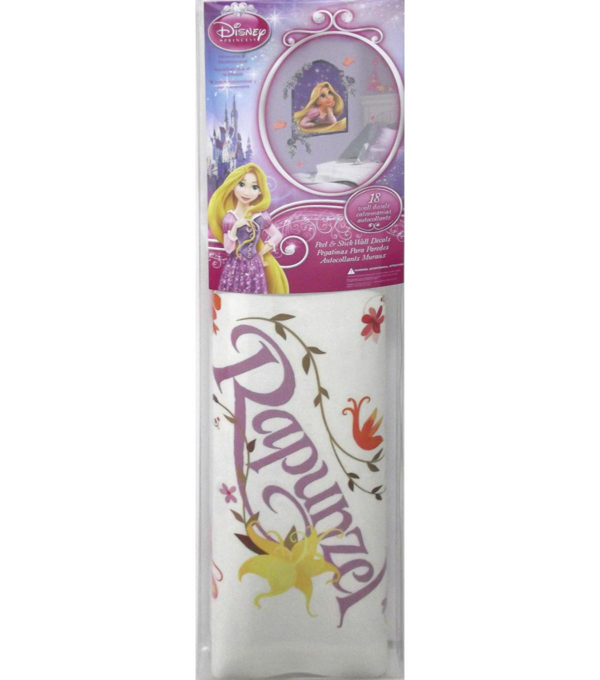 York Wallcoverings Wall Decals-Tangled Rapunzel Giant