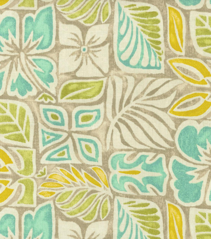 Home Decor Print Fabric Tommy Bahama Sun Blocks Bleached Sand Joann