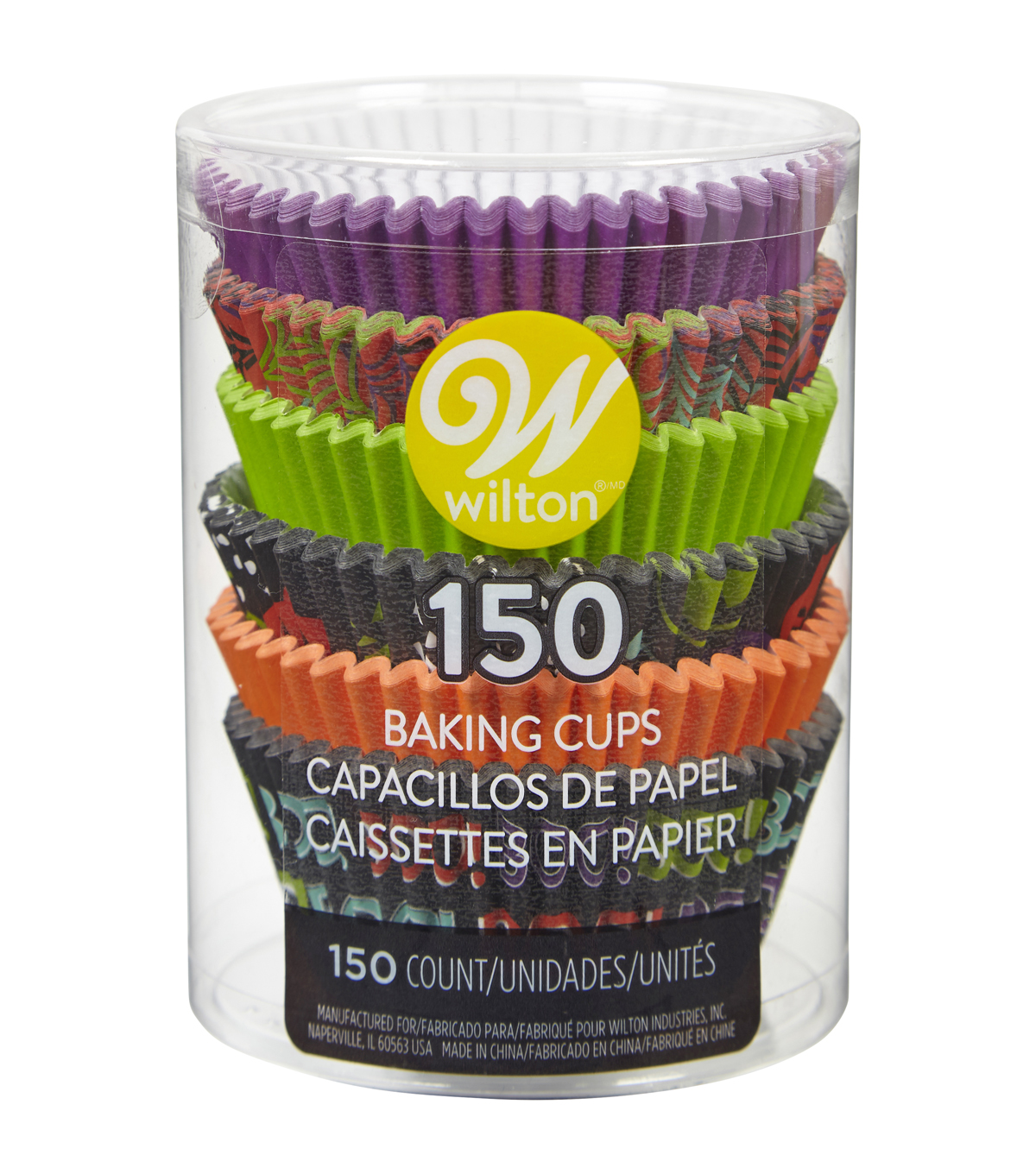 Wilton Baking Cups 150ct-Halloween