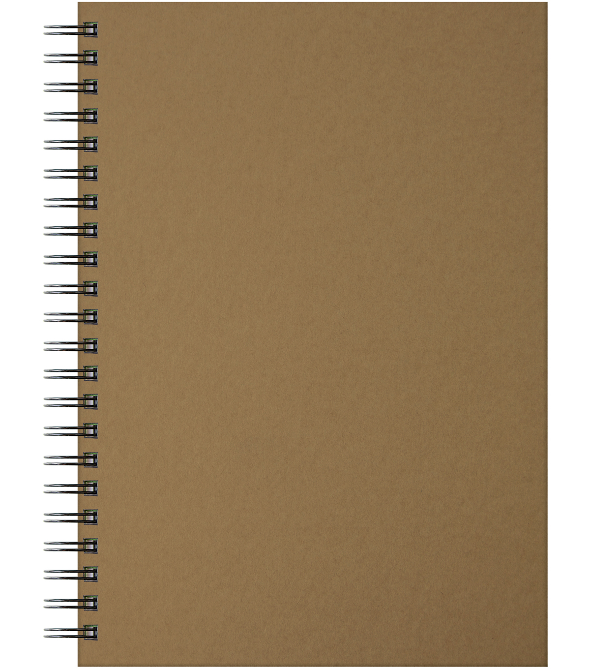 Artgecko Krafty Gecko A4 Twin Wirebound Hardback Sketchbook-Kraft