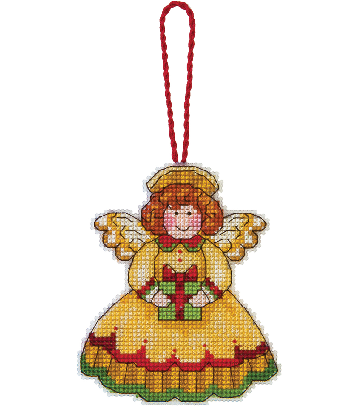 Angel Ornament Counted Cross Stitch Kit