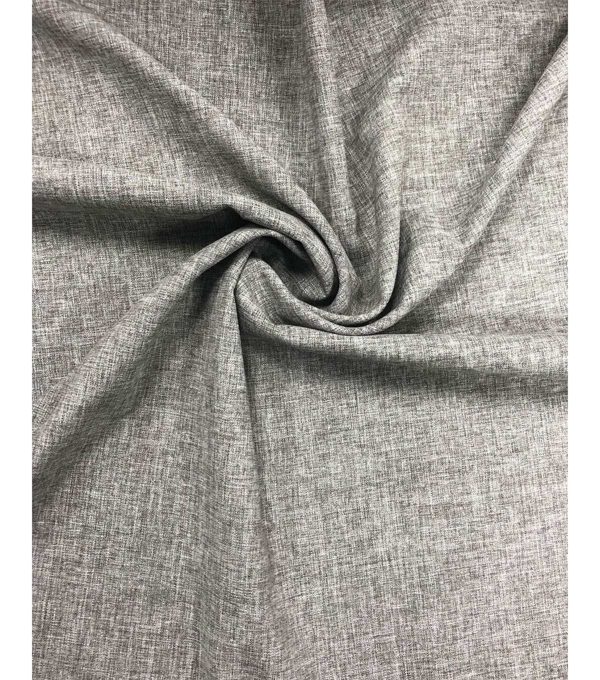 Peached Outdoor Decor Fabric 55\u0022-Gray Solid