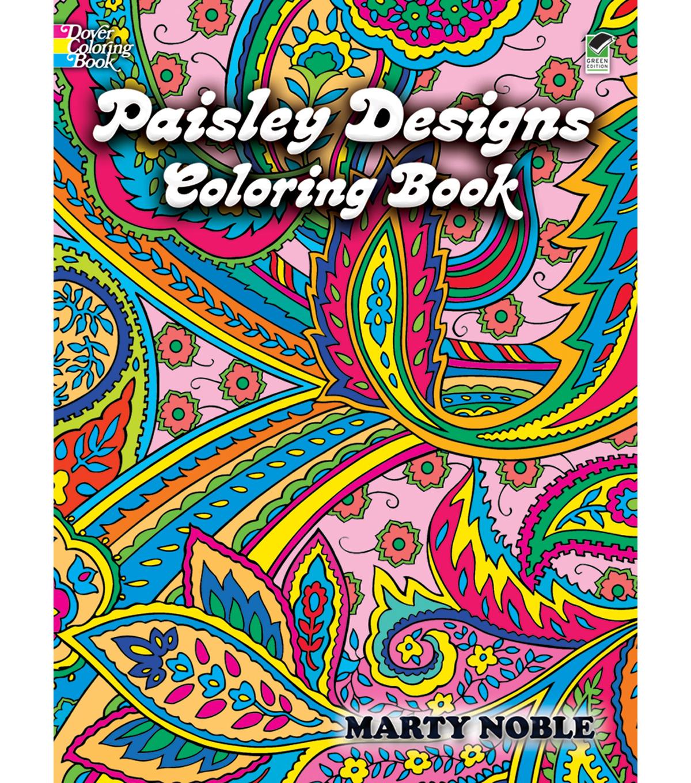 - Paisley Designs Coloring Book JOANN