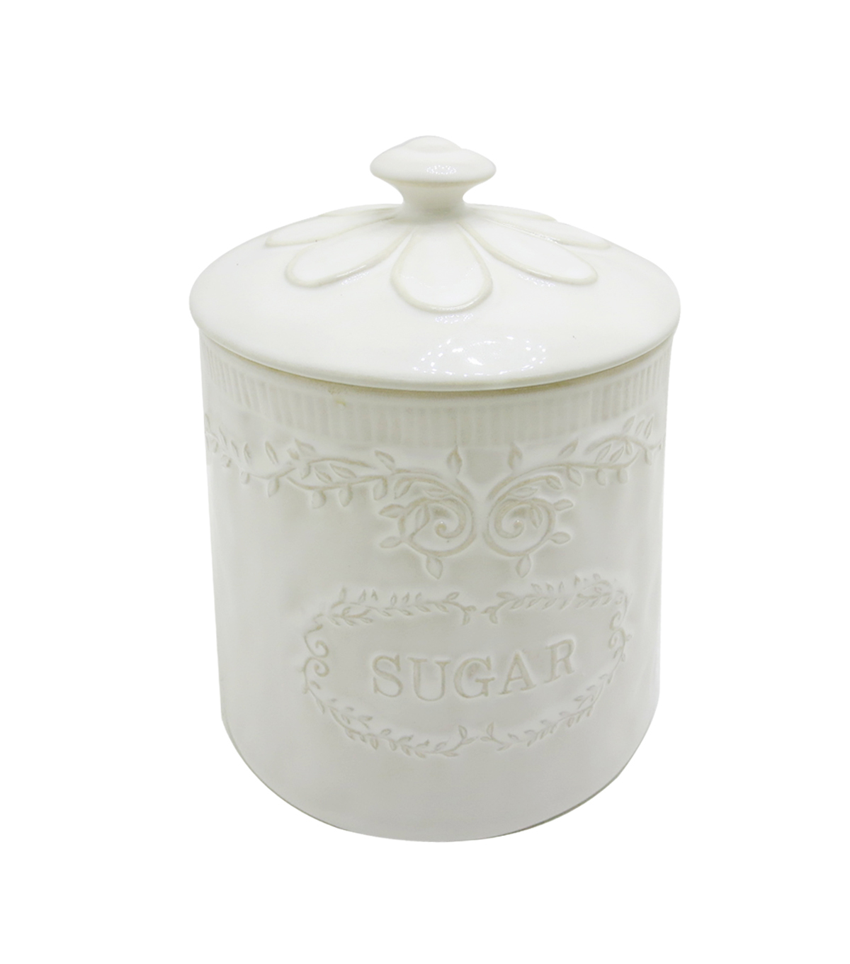 Hudson 43 Farm 5.32\u0027\u0027x7.36\u0027\u0027 Storage Jar-Sugar