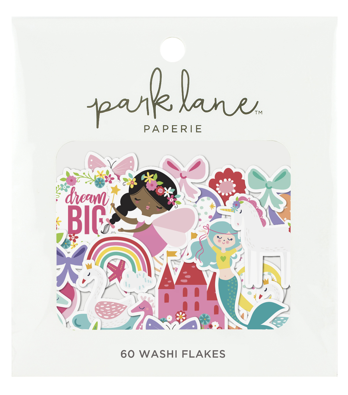 Park Lane Washi Flakes 60/Pkg-Magical