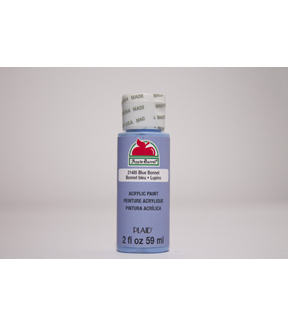 Apple Barrel 2 fl. oz. Acrylic Paint, Blue Bonnet