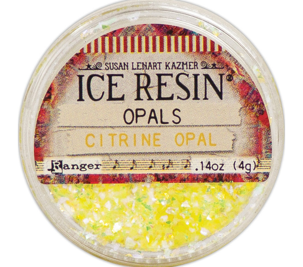 Ice Resin Opals-Citrine