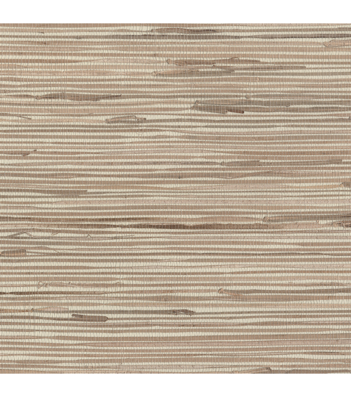 Open Grasscloth Wallpaper, Khaki Sample