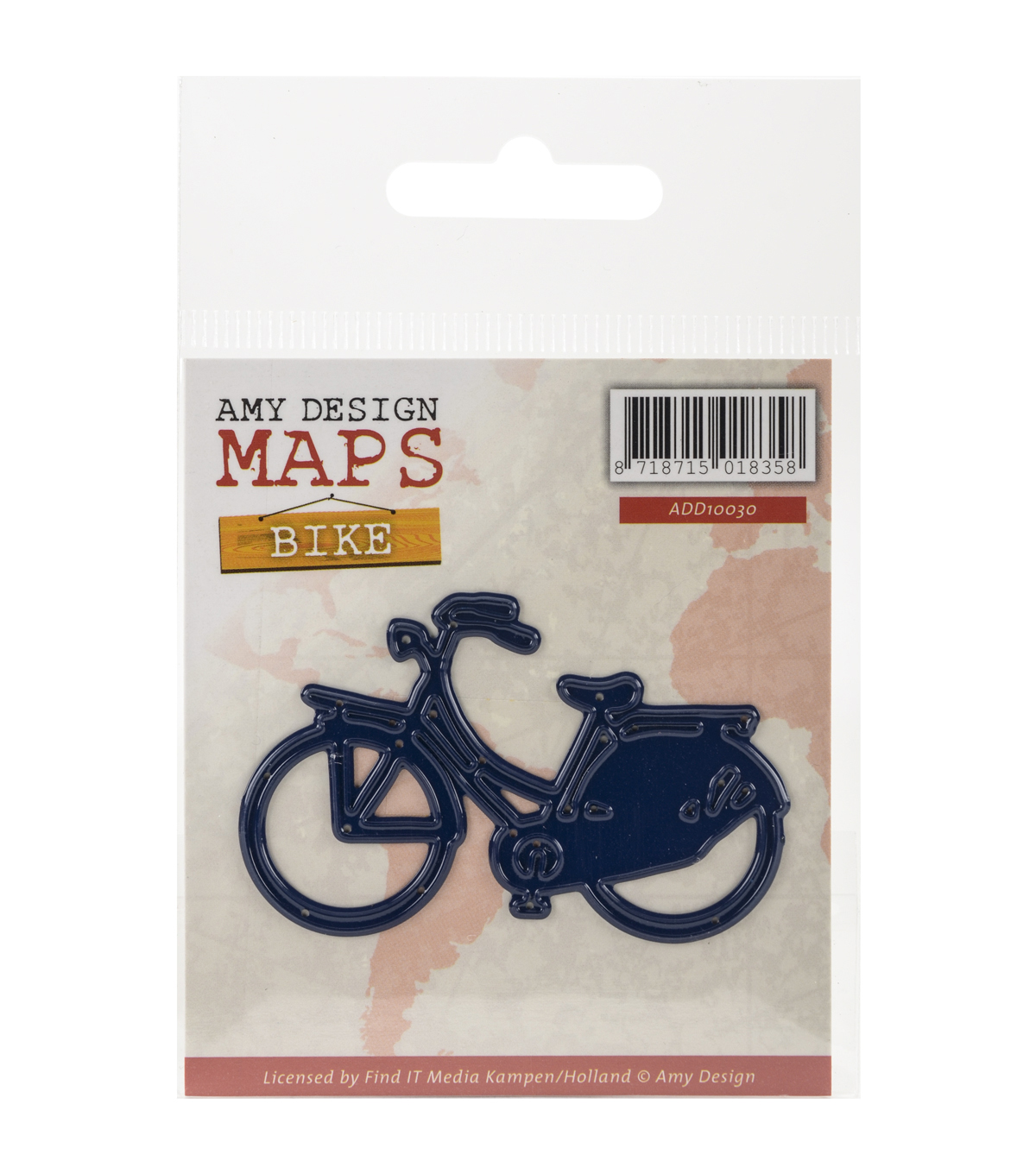 Amy Design Find It Trading Map Die-Bike