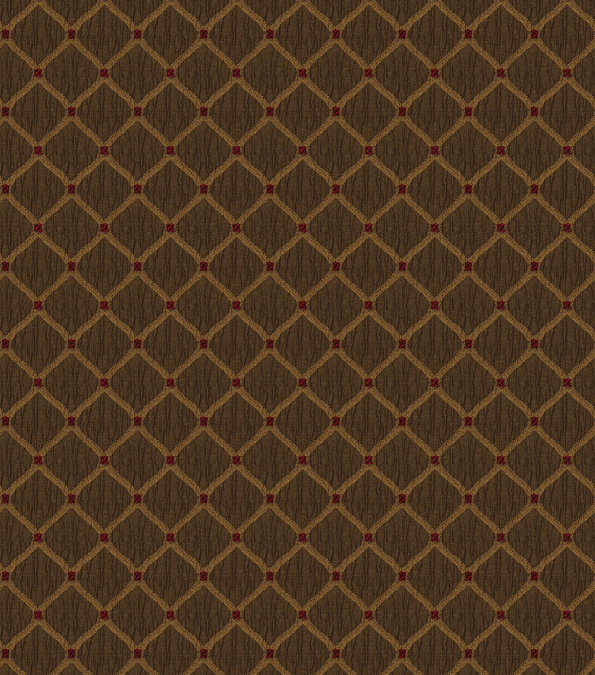 Jaclyn Smith Upholstery Fabric 55\u0022-Newark Rot/Pecan