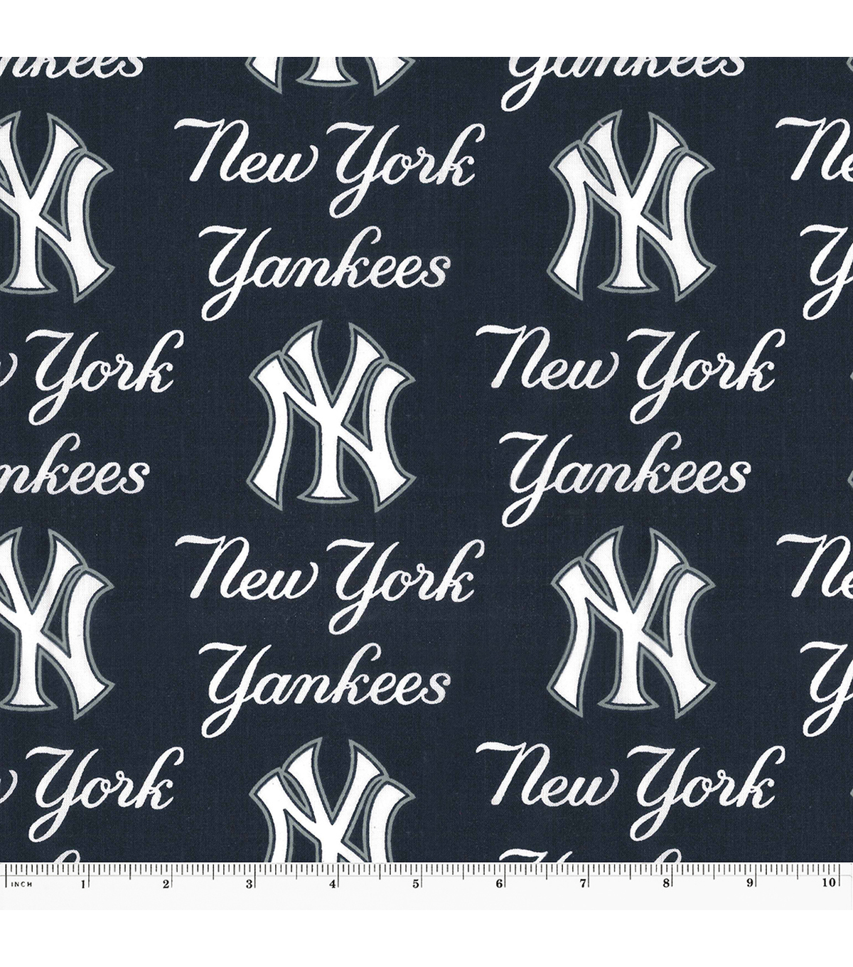 best sneakers ed918 58f37 New York Yankees Cotton Fabric -Logo