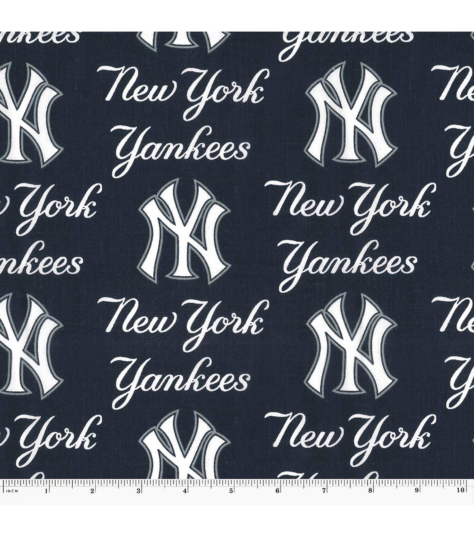 best sneakers e666e f2f63 New York Yankees Cotton Fabric -Logo