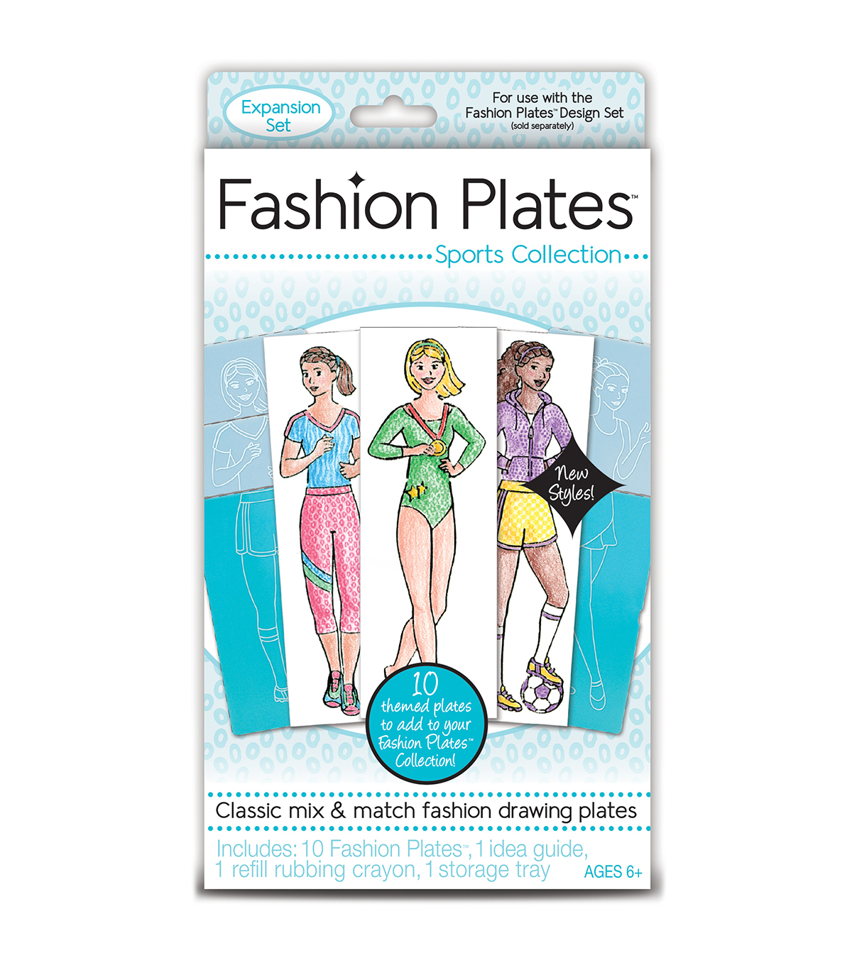 Kahootz Fashion Plates Expansion Set-Sports
