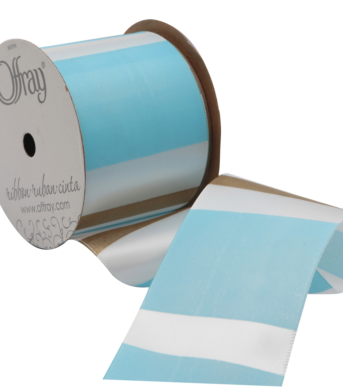 2 And One Qtr Pastel Mystique Stripe 2 Ribbon
