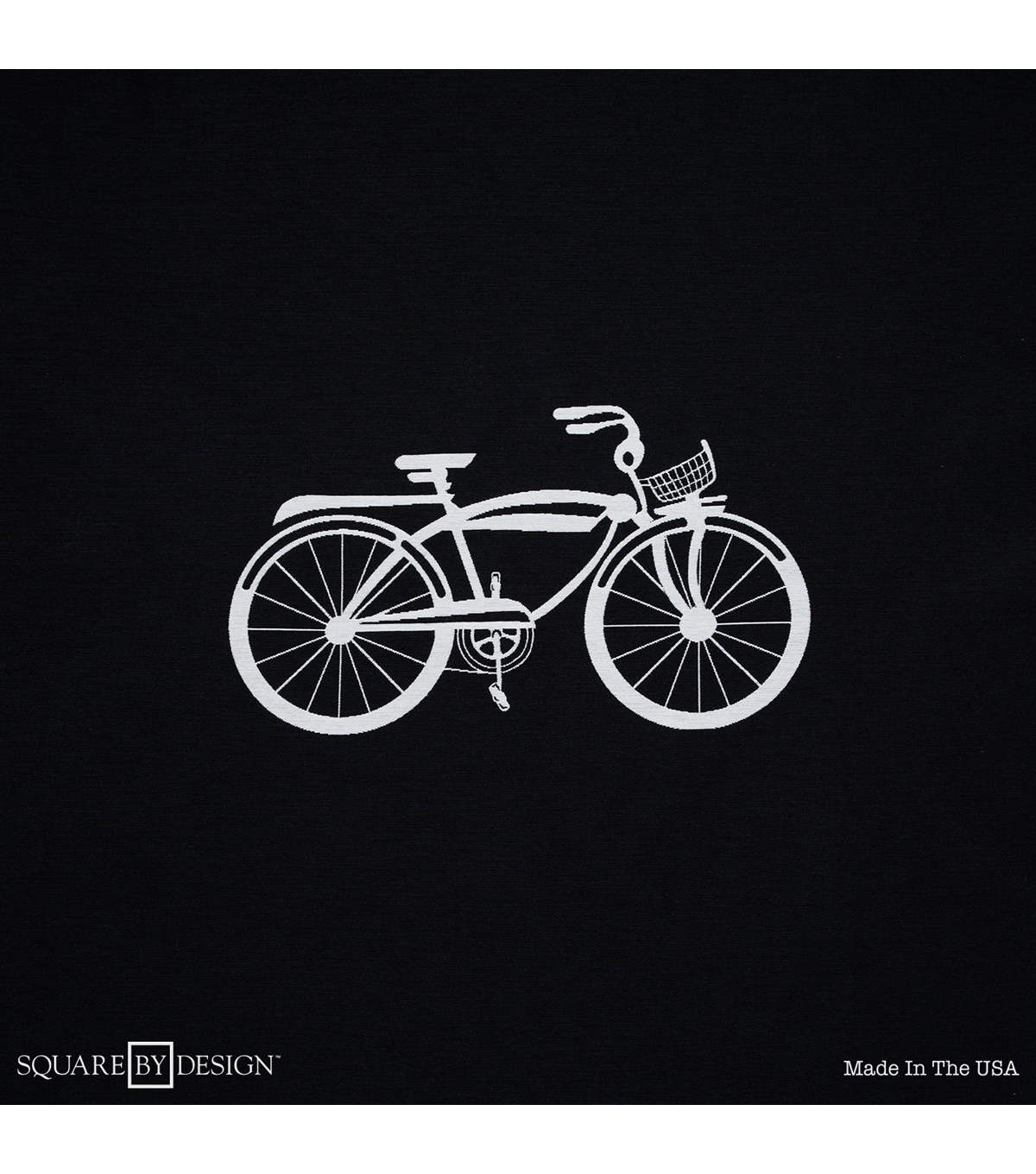 Square By Design-Bicycle 25\u0022 Woven Square